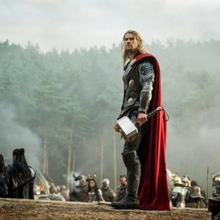 Thor: The Dark World - Chris Hemsworth stars as Thor in Walt Disney Pictures' Thor: The Dark World (2013)