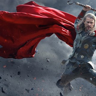 Chris Hemsworth stars as Thor in Walt Disney Pictures' Thor: The Dark World (2013)