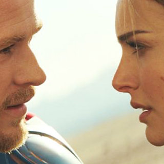 Thor - Chris Hemsworth stars as Thor and Natalie Portman stars as Jane Foster in Paramount Pictures' Thor (2011)
