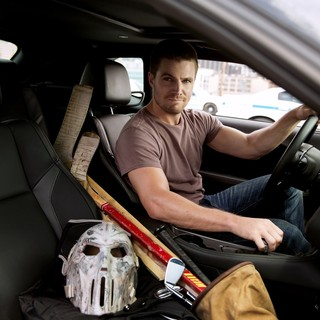 Stephen Amell stars as Casey Jones in Paramount Pictures' Teenage Mutant Ninja Turtles: Out of the Shadows (2016) - tmnt-oots07