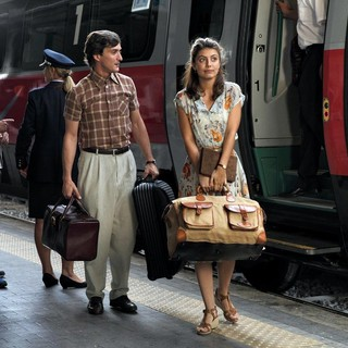 Luca Calvani and Alessandra Mastronardi stars as Milly in Sony Pictures Classics' To Rome with Love (2012)