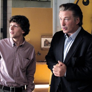 Jesse Eisenberg stars as jack and Alec Baldwin stars as John in Sony Pictures Classics' To Rome with Love (2012)