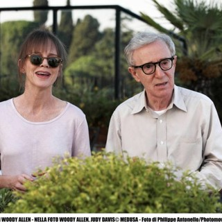Judy Davis and Woody Allen in Sony Pictures Classics' To Rome with Love (2012). Photo credit by Philippe Antonello. - to-rome-with-love-pics01