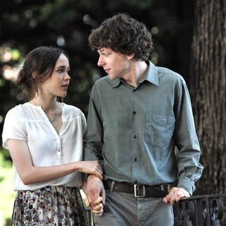 Ellen Page and Jesse Eisenberg in Sony Pictures Classics' To Rome with Love (2012)