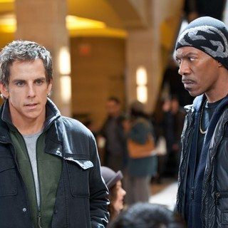Ben Stiller stars as Josh Kovacs and Eddie Murphy stars as Slide in Universal Pictures' Tower Heist (2011)