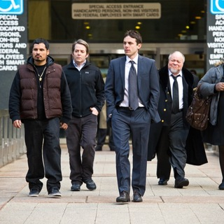 Michael Pena, Matthew Broderick, Casey Affleck, Stephen Mckinley and Gabourey Sidibe in Universal Pictures' Tower Heist (2011) - tower-heist-still09