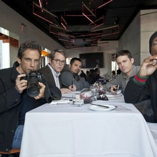 Ben Stiller, Matthew Broderick, Michael Pena, Casey Affleck and Eddie Murphy in Universal Pictures' Tower Heist (2011)
