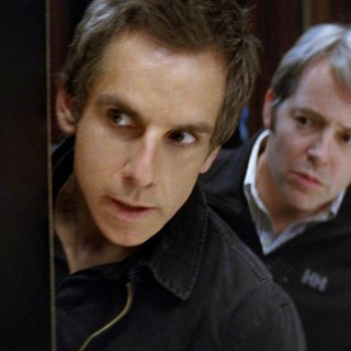 Ben Stiller stars as Josh Kovacs and Matthew Broderick stars as Chase Fitzhugh in Universal Pictures' Tower Heist (2011)