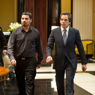 Ben Stiller stars as Josh Kovacs and Michael Pena stars as Rick Malloy in Universal Pictures' Tower Heist (2011)