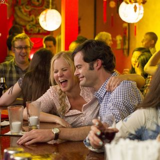 Amy Schumer stars as Amy and Bill Hader stars as Aaron in Universal Pictures' Trainwreck (2015)