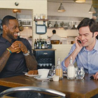 Trainwreck - LeBron James and Bill Hader (Aaron) in Universal Pictures' Trainwreck (2015)