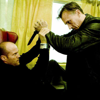 Jason Statham stars as Frank Martin and Robert Knepper stars as Johnson in Lionsgate Films' Transporter 3 (2008). Photo credit by Magali Bragard.