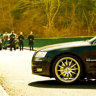 A scene from Lionsgate Films' Transporter 3 (2008). Photo credit by Magali Bragard.