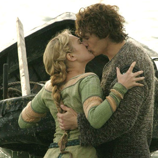 James Franco and Sophia Myles as Tristan and Isolde in The 20th Century Fox's Tristan & Isolde (2006) - tristan_and_isolde_02