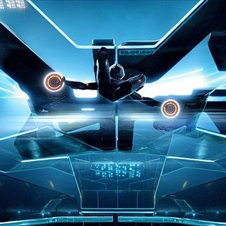 A scene from Walt Disney Pictures' Tron Legacy (2010)