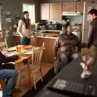 Twilight Saga's Breaking Dawn Part I, The - Billy Burke, Alex Rice, Gil Birmingham and Taylor Lautner in Summit Entertainment's The Twilight Saga's Breaking Dawn Part I (2011)