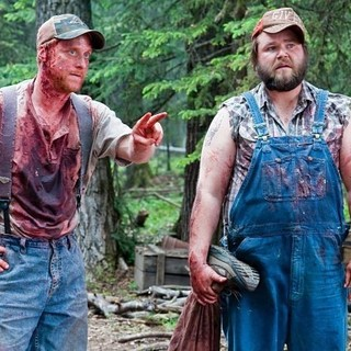 Alan Tudyk stars as Tucker and Tyler Labine stars as Dale in Magnolia Pictures' Tucker & Dale vs Evil (2011)