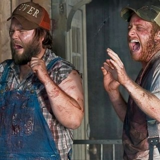 Tyler Labine stars as Dale and Alan Tudyk stars as Tucker in Magnolia Pictures' Tucker & Dale vs Evil (2011)