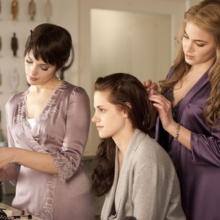 Ashley Greene, Kristen Stewart and Nikki Reed in Summit Entertainment's The Twilight Saga's Breaking Dawn Part I (2011) - twilight-breaking-dawn1-05