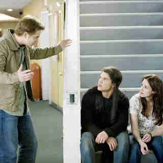 Twilight Saga's New Moon, The - Michael Welch, Taylor Lautner and Kristen Stewart in Summit Entertainment's The Twilight Saga's New Moon (2009)