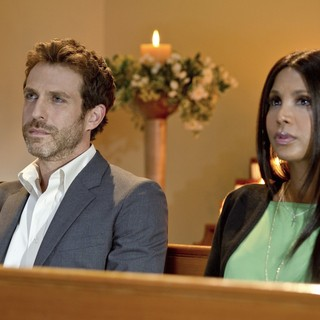 David Julian Hirsh stars as Jacob and Toni Braxton stars as Nina in Lifetime's Twist of Faith (2013)