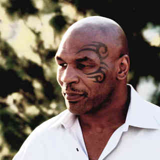 Mike Tyson in Sony Pictures Classics' Tyson (2009). Photo credit by Larry McConkey.