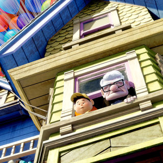 Up - A scene from Buena Vista Pictures' Up (2009)