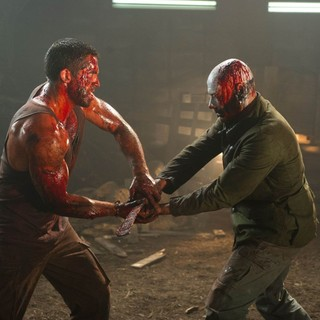 Scott Adkins stars as John and Jean-Claude Van Damme stars as Luc Deveraux in Magnet Releasing's Universal Soldier: Day of Reckoning (2012) - us-day-of-reckoning05