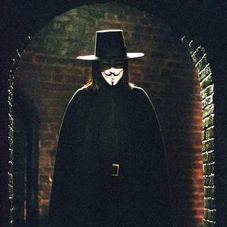 "Hugo Weaving as V in Warner Bros' ""V for Vendetta"" (2006)"