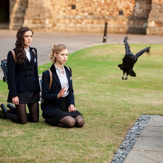 Zoey Deutch stars as Rose Hathaway and Lucy Fry stars as Lissa Dragomir in The Weinstein Company's Vampire Academy (2014) - vampire-academy-image01