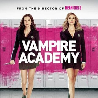 Poster of The Weinstein Company's Vampire Academy (2014) - vampire-academy-pstr03