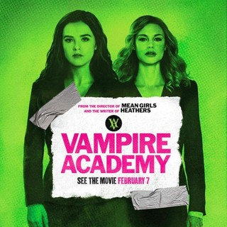 Poster of The Weinstein Company's Vampire Academy (2014) - vampire-academy-pstr08