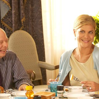 Wallace Shawn stars as Dr. Van Helsing and Kristen Johnston stars as Mrs. Van Helsing in Anchor Bay Films' Vamps (2012)