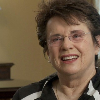 Billie Jean King stars as Herself in Magnolia Pictures' Venus and Serena (2013)