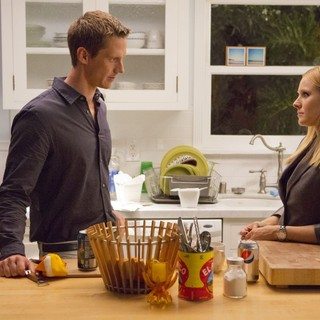 Jason Dohring stars as Logan Echolls and Kristen Bell stars as Veronica Mars in Warner Bros. Pictures' Veronica Mars (2014)
