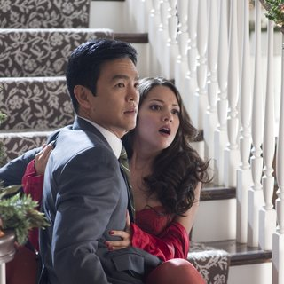 John Cho stars as Karold Lee and Paula Garces stars as Maria in Warner Bros. Pictures' A Very Harold & Kumar Christmas (2011) - very-harold-kumar02