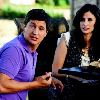 Ken Marino stars as Rick and Michaela Watkins stars as Marissa in Universal Pictures' Wanderlust (2012). Photo credit by Gemma La Mana. - wanderlust-image01