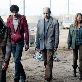 Nicholas Hoult, Rob Corddry Teresa Palmer in Summit Entertainment's Warm Bodies (2013)