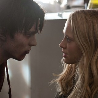 Nicholas Hoult stars as R and Teresa Palmer stars as Julie in Summit Entertainment's Warm Bodies (2013)
