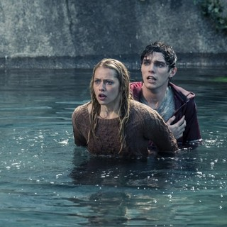 Teresa Palmer stars as Julie and Nicholas Hoult stars as R in Summit Entertainment's Warm Bodies (2013)