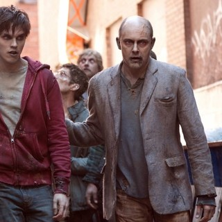 Nicholas Hoult stars as R and Rob Corddry stars as M in Summit Entertainment's Warm Bodies (2013)