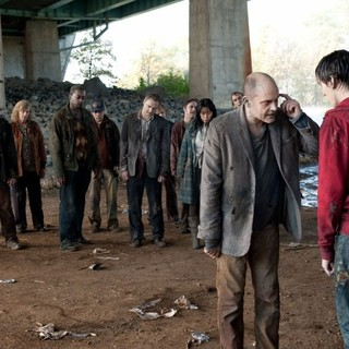 Rob Corddry stars as M and Nicholas Hoult stars as R in Summit Entertainment's Warm Bodies (2013)