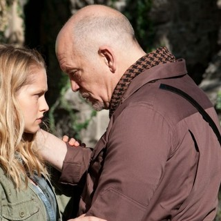 Teresa Palmer stars as Julie and John Malkovich stars as General Grigio in Summit Entertainment's Warm Bodies (2013)