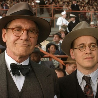 Harrison Ford stars as Branch Rickey and T.R. Knight stars as Harold Parrott in Warner Bros. Pictures' 42 (2013) - warner-42-06