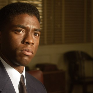 Chadwick Boseman stars as Jackie Robinson in Warner Bros. Pictures' 42 (2013) - warner-bros-42-03