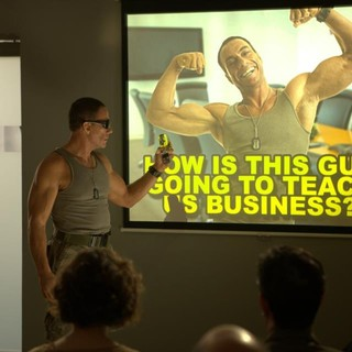 Jean-Claude Van Damme stars as Storm in Cinedigm Entertainment Group's Welcome to the Jungle (2014)