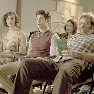 Welcome to the Jungle - Kristen Schaal, Adam Brody and Eric Edelstein in Entertainment Group's Welcome to the Jungle (2014)