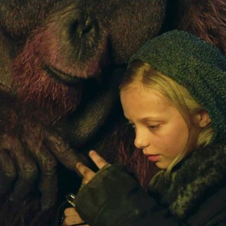 War for the Planet of the Apes - Amiah Miller stars as Nova in 20th Century Fox's War for the Planet of the Apes (2017)