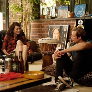 Julianne Moore stars as Susanna and Alexander Skarsgard stars as Lincoln in Millennium Entertainment's What Maisie Knew (2013)