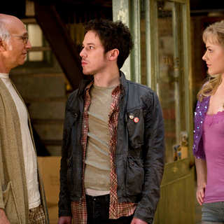 Larry David, John Gallagher Jr. and Evan Rachel Wood in Sony Pictures Classics' Whatever Works (2009). Photo credit by Jessica Miglio. - whatever_works01